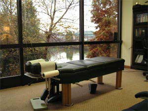 Bailey Chiropractic of High Point, NC - Chiropractic Bed